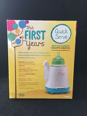 The First Years Baby Pro Bottle Warmer Safely Warms Breastmilk/Formula Free Ship