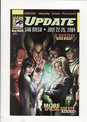 2004 S.D. Comic-Con International Update #2 Michael Turner Infinity Crisis Cover
