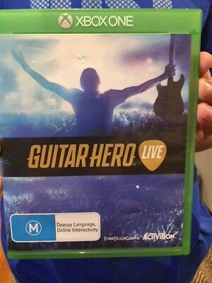 Guitar Hero Live Game for Microsoft Xbox One
