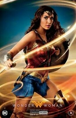Wonder Woman 2017 SDCC exclusive comic book silver Gal Gadot photo cover variant
