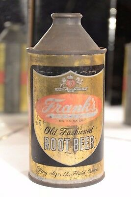 Franks Old Fashioned Root Beer Cone Top
