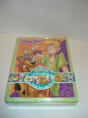 Scooby Doo Art Activity Tin, Activity Book, Coloring Book, Markers, Stickers,New