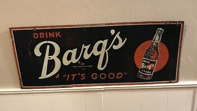 Vintage Barq's Rootbeer Sign
