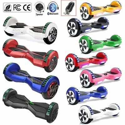 6,5/8,0 Zoll Bluetooth Hoverboard 2 Räder E-Scooter E-Balance Scooter mit Tasche