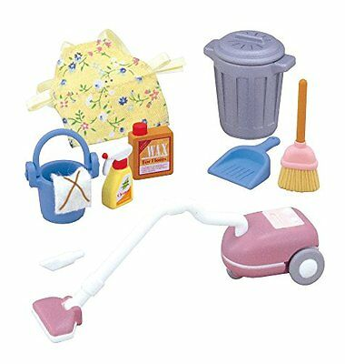 Epoch Ka-607 Sylvanian Families Doll Vacuum Cleaner Set F/S from JAPAN