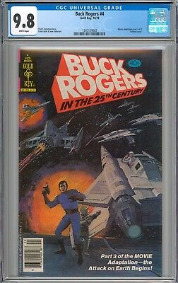 Buck Rogers #4 CGC 9.8 NM/MT Highest Graded Copy Gold Key WHITE Pages New Case