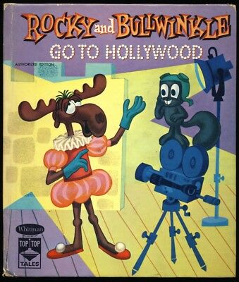 1961 ROCKY & BULLWINKLE #2494 Authorized  TOP TOP TALES Edition P.A.T. WARD