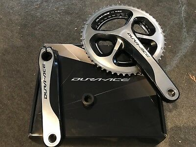 Shimano Dura Ace 9000 HollowTech II Double Chainset- 172.5, 52x38