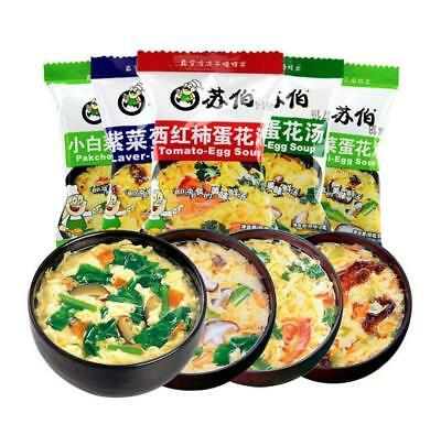 New Tasty Chinese Instant vegetable Soup Different tastes Fast Food Hot Sell