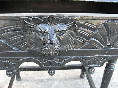 Green man table, console, hall, Table, drawer