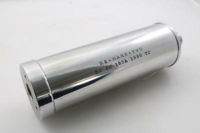"Silencer "" RZ LEFT HAND "" Aluminum with PM Hole Stitch Lettering Left Vespa"