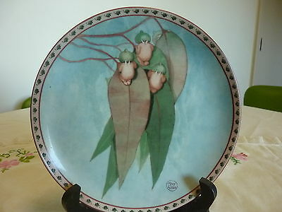 "Rare Second Proof Run May Gibbs Gumnut Babies Plate ""gumnuts Peeping"" 1995"