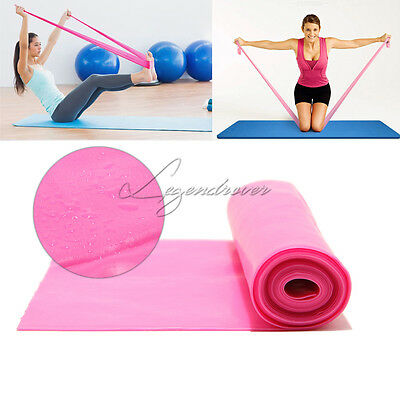 GYM Exercise Pilates Yoga Resistance Bands Dyna Workout Fitness Aerobics Stretch