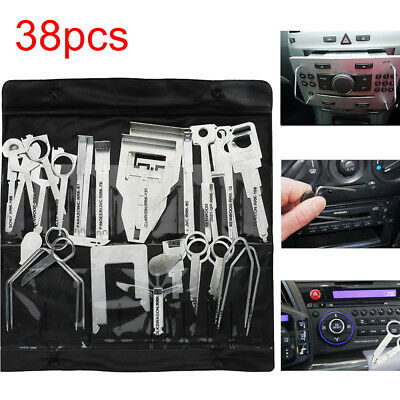 38x Car Stereo Release Removal Keys Kit Tool Vehicle CD Radio Head Unit AU