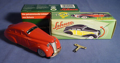 SCHUCO 1010 Wende Auto Limousine OVP rot Replica tin toy boxed B173