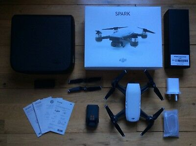 Dji Spark Quadcopter - White, Boxed In Perfect Condition - Used 3 Times