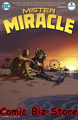 Mister Miracle #5 (Of 12) (2017) 1St Printing Dc Universe Rebirth