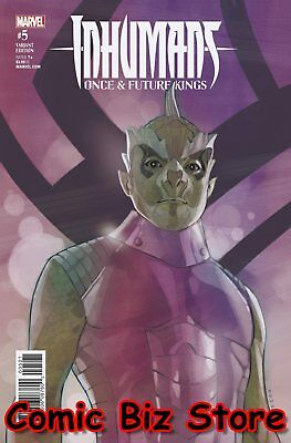 Inhumans Once Future Kings #5 (Of 5) 1St Printing Noto Character Variant Cover