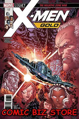 X-Men Gold #17 (2017) 1St Printing Bagged & Boarded Marvel Legacy Tie-In