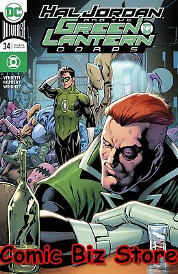 Hal Jordan And The Green Lantern Corps #34 (2017) Variant Cover Dc Rebirth