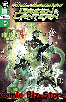 Hal Jordan And The Green Lantern Corps #34 (2017) 1St Print Dc Universe Rebirth