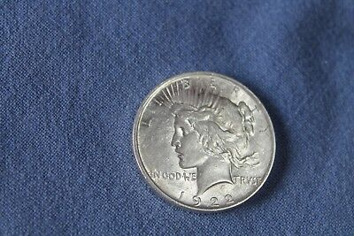 "USA 1 Dollar 1922 "" PEACE DOLLAR "" 0.900 SILBER Silver original RAR 1*!!!"