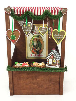 Byers Choice Christmas Gingerbread Market Stall