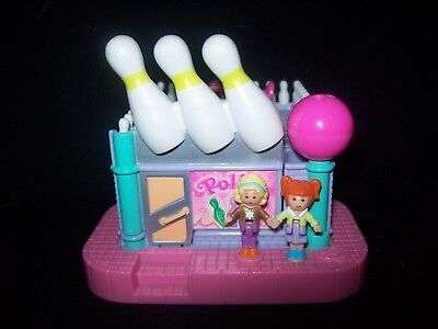 EUC 100 % Complete Polly Pocket Bowling Alley 1996