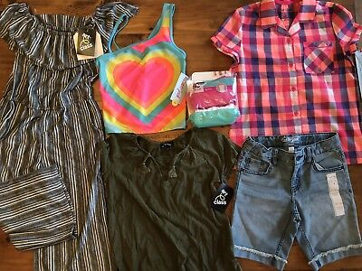 Girls Mixed Clothing Lot, Size 7/8, New With Tags (most)