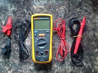 Fluke 1503 Insulation Tester VGC Boxed with all probes