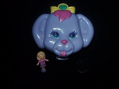 EUC 100 % Complete Polly Pocket Dazzling Dog Show 1993