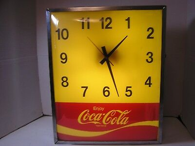 Fully Functional Coca Cola Clock