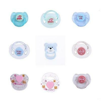 Alive Baby Supply Magnet Dummy Cartoon Magnetic Pacifier Reborn Bebe Doll Gift