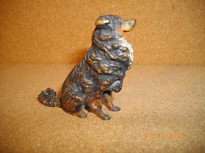 Austrian Cold Painted  Bronze Sheepdog