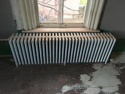 Vintage Cast Iron Steam or Hot Water Radiator 58x19x8