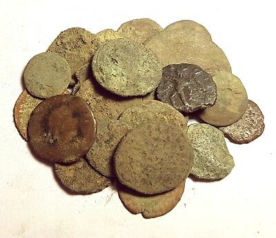 ROMAN COINS LOT - 20pcs OF LOWER QUALITY ANCIENT BRONZE COINS  #LOT 1