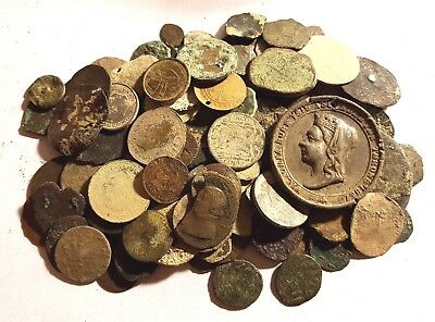 130 Varoius Celtic, Roman, Pirate Cob And Victorian Coins - Icluding Some Modern