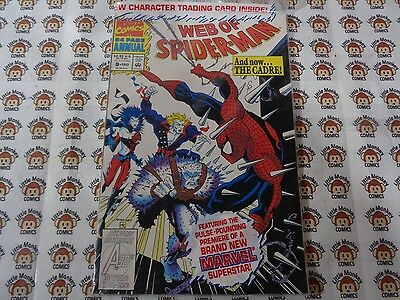 Web of Spider-Man (1985) Marvel - Annual #9, Chaos is the Cadre, VF+