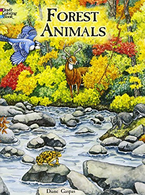 Forest Animals Coloring Book (Dover Nature Coloring Book)