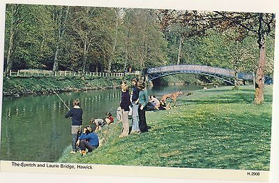 Old Postcard - The Spetch & Laurie Bridge, Hawick (Dennis) - Unposted 2005