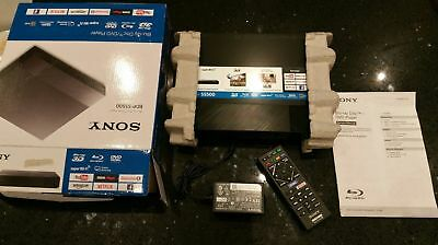 Sony BDP-S5500 3D Blu-Ray Player, Screen Mirroring, Netflix,Iplayer (new item)