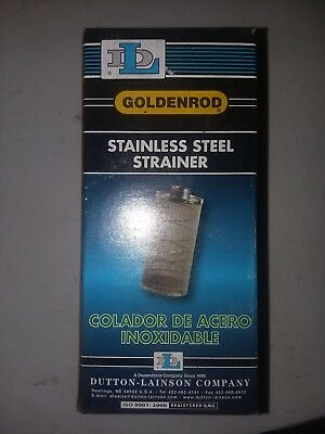 GOLDENROD Stainless Steel Mesh Strainer,150 psi,6 to 25 gpm, 470-16
