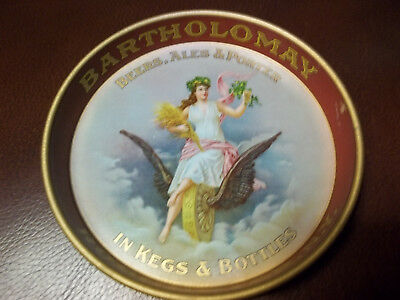 Pre-Pro Bartholomay Brewery  Rochester, N.Y. Beer Tip Tray Ex. Cond.