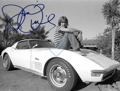 REPRINT RP 8x10 Signed Autographed Photo: David Cassidy - The Partridge Family
