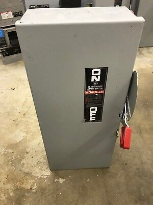 Ge Th4323 100Amp 240V 3 Phase 4 Wire Fusible Disconnect Switch