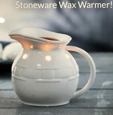 🎅   Longaberger 2017 Stoneware Wax Warmer  ☃   Brand NEW For December :)!! ☃