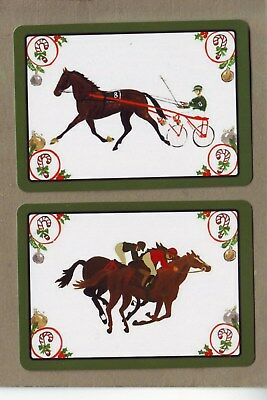 Xmas Racehorses Swap/playing Cards