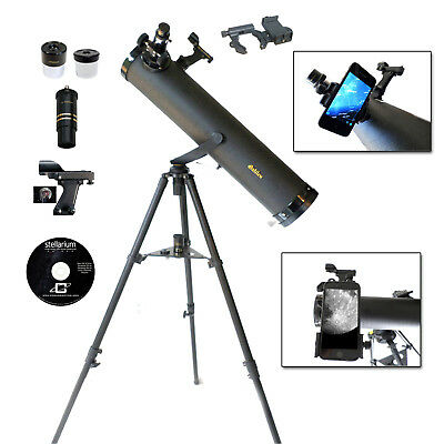 Galileo SS-80095BG - 800x95 Astronomical Telescope w/SMARTPHONE Photo Adapter