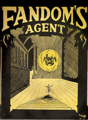 Fandom's Agent 6 7 double issue 1968 69 Comicbook Fanzine Ray Miller Collection