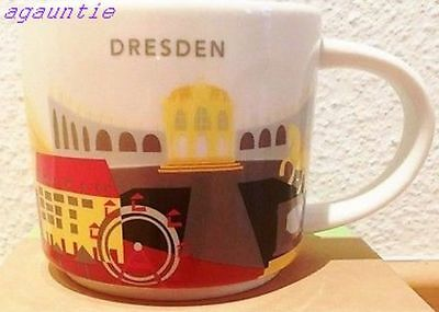US Seller New Starbucks You Are Here Coffee Cup Dresden (Germany City) Mug 14oz.